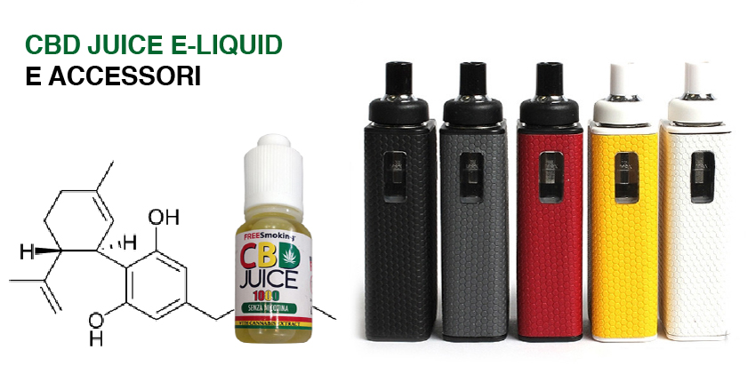 CBD JUICE E-LIQUID E ACCESSORI